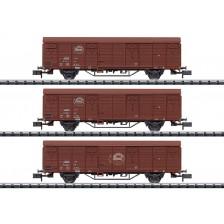 "Trix 18902 - DR Güterwagen-Set ""Expressgut"""