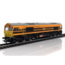 Trix 22692 - Rotterdam Rail Feeding Diesellokomotive Class 66 (DCC Sound+Steam)