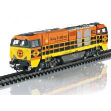 Trix 25297 - Rotterdam Rail Feeding Diesellokomotive Vossloh G2000 BB (DCC Sound)