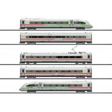 Trix 25976 - DB-AG Triebwagenzug ICE 4 Baureihe 412/812 mit grünem Streifen