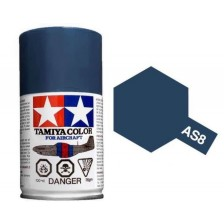 Tamiya 86508 - AS-8 Navy Blue 100ml