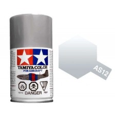 Tamiya 86512 - AS-12 Bare Metal Silver 100ml