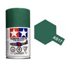 Tamiya 86517 - AS-17 Dark Green (IJA) 100ml