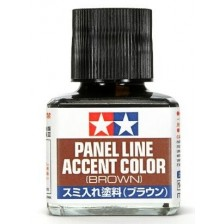Tamiya 87132 - Panel Line Accent Color Brown