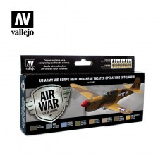 Vallejo Model Air 71.183 - US Army Air Corps Mediterranean Theater Operat (MTO) WWII