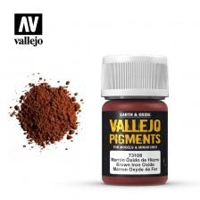 Vallejo 73.108 - Brown Iron Oxide Pigment