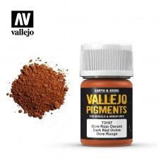 Vallejo 73.107 - Dark Red Ochre Pigment