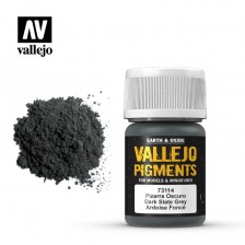Vallejo 73.114 - Dark Slate Grey Pigment