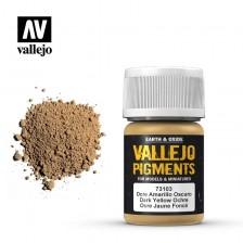 Vallejo 73.103 - Dark Yellow Ocre Pigment