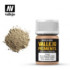 Vallejo 73.102 - Light Yellow Ocre Pigment