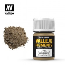 Vallejo 73.109 - Natural Umber Pigment