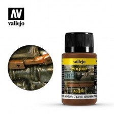 Vallejo 73.818 - Weathering Effects Brown Engine Soot