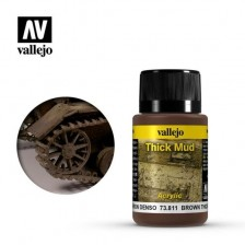 Vallejo 73.811 - Weathering Effects Thick Brown Mud