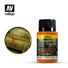 Vallejo 73.816 - Weathering Effects Engine Diesel Stains