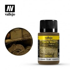 Vallejo 73.807 - Weathering Effects Thick European Mud