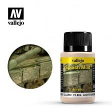 Vallejo 73.804 - Weathering Effects Light Brown Splash Mud