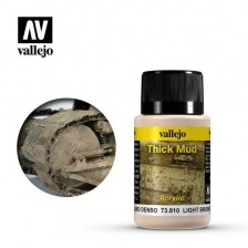 Vallejo 73.810 - Weathering Effects Thick Light Brown Mud