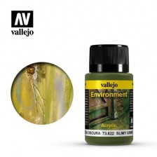 Vallejo 73.822 - Weathering Effects Environment Slimy Grime Dark