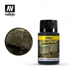 Vallejo 73.806 - Weathering Effects Black Splash Mud