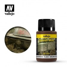 Vallejo 73.805 - Weathering Effects Brown Splash Mud