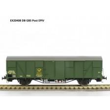 Exact-Train EX20408 - DB Güterwagen DBP Post2ss-t/13 Gms 254