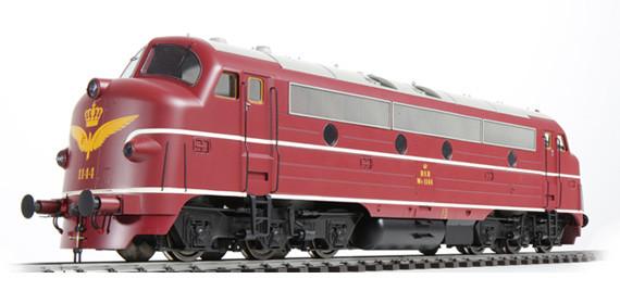 DSB Pullman Diesellok NoHAB My 1144
