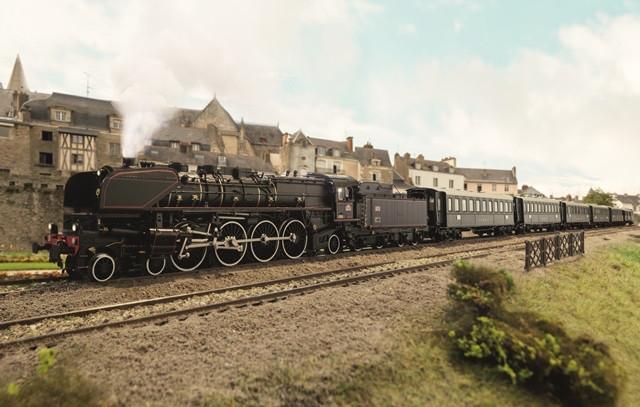 SNCF Schnellzug-Dampflokomotive Serie 241-A
