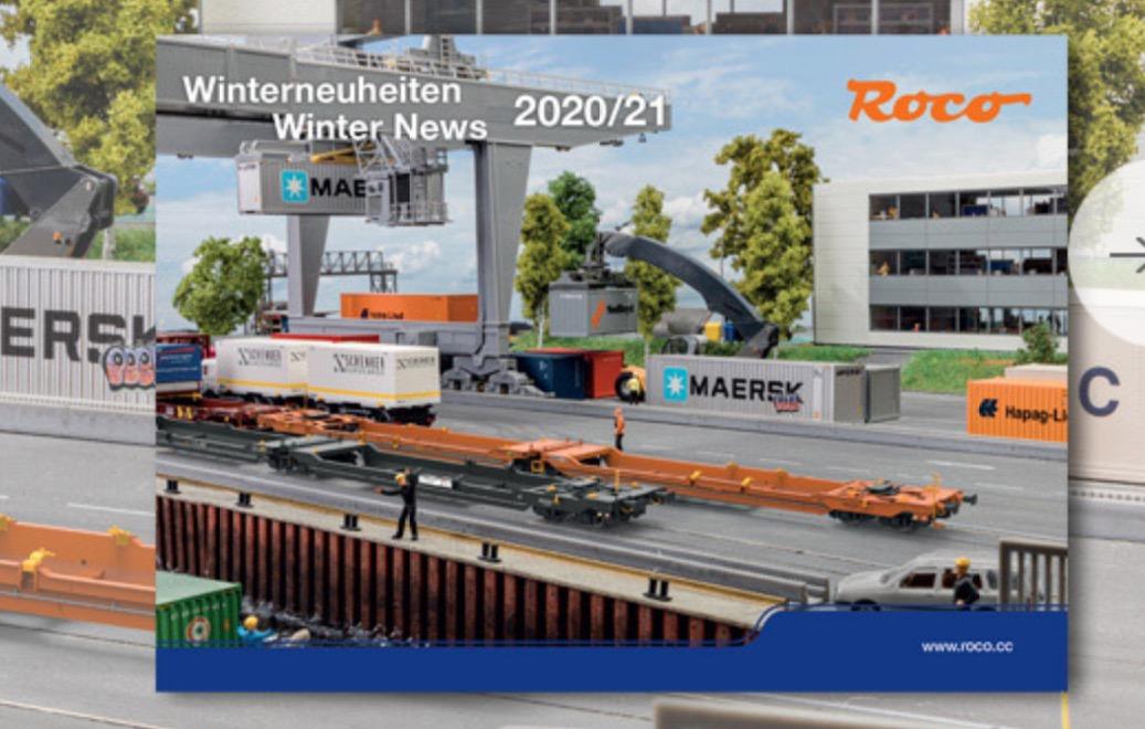 Roco Winterneuheiten 2020
