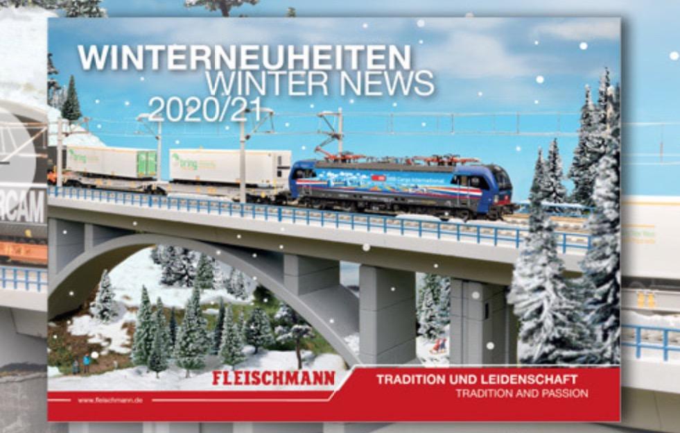 Fleischmann Winterneuheiten 2020