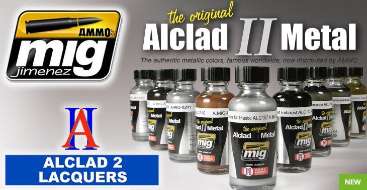 Alclad II Metal Paint